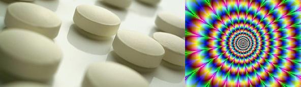 Pillen mit Wirkung bunter Farben - LSD feiert 70. Geburtstag