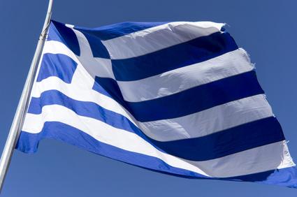 Flagge Griechenlands zum 40. Geburtstag © panos3 |  fotolia