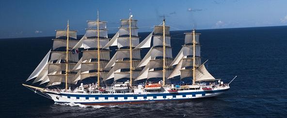 adamare Kreuzfahrt auf dem Segelschiff Royal Clipper