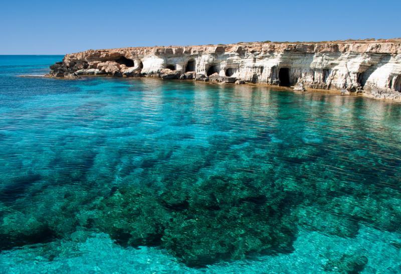 Zypern glasklare Gewässer @ adamare Singlereisen