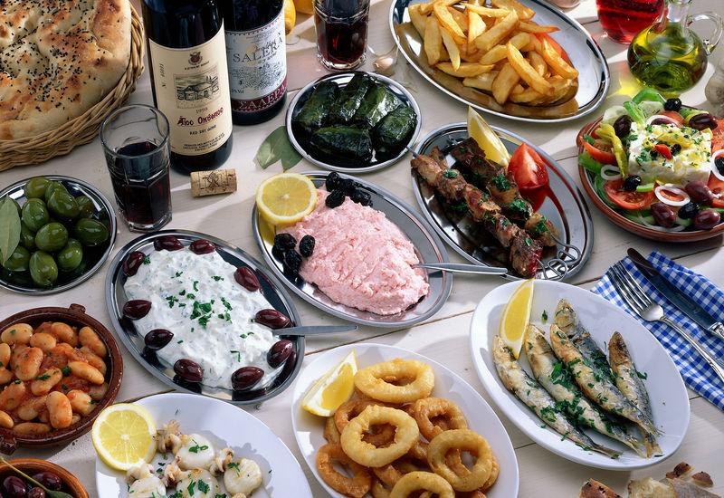 Spezialitäten aus Zypern © Bildagentur Huber / R. Schmid