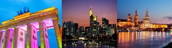 Deutschland im Fokus der adamare Singlereisen